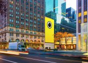 Spectacles : Snapchat installe une boutique géante en face de l'Apple Store de New York