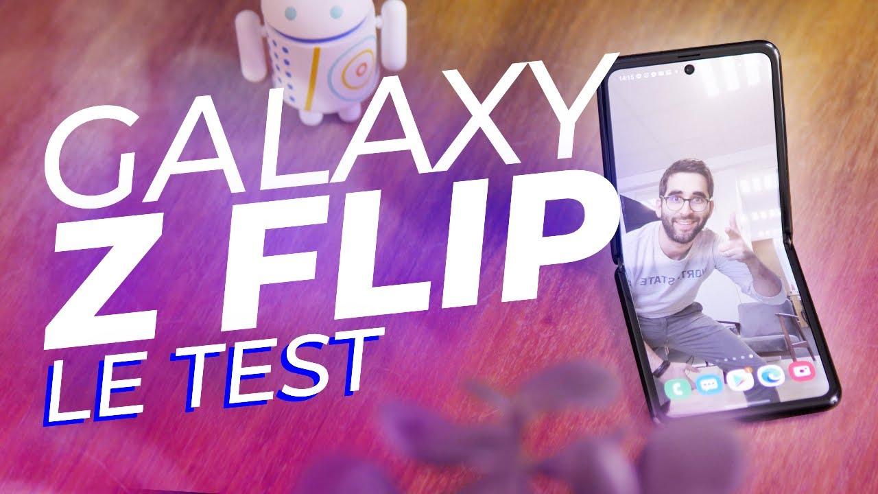 Test Galaxy Z Flip : Samsung a PLIÉ le game !
