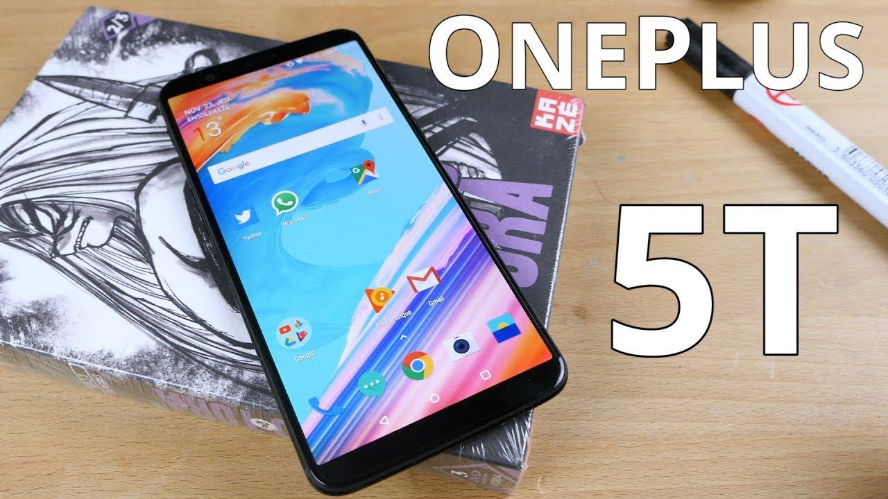Quelles différences entre le OnePlus 5T et le OnePlus 5 ? Notre test !