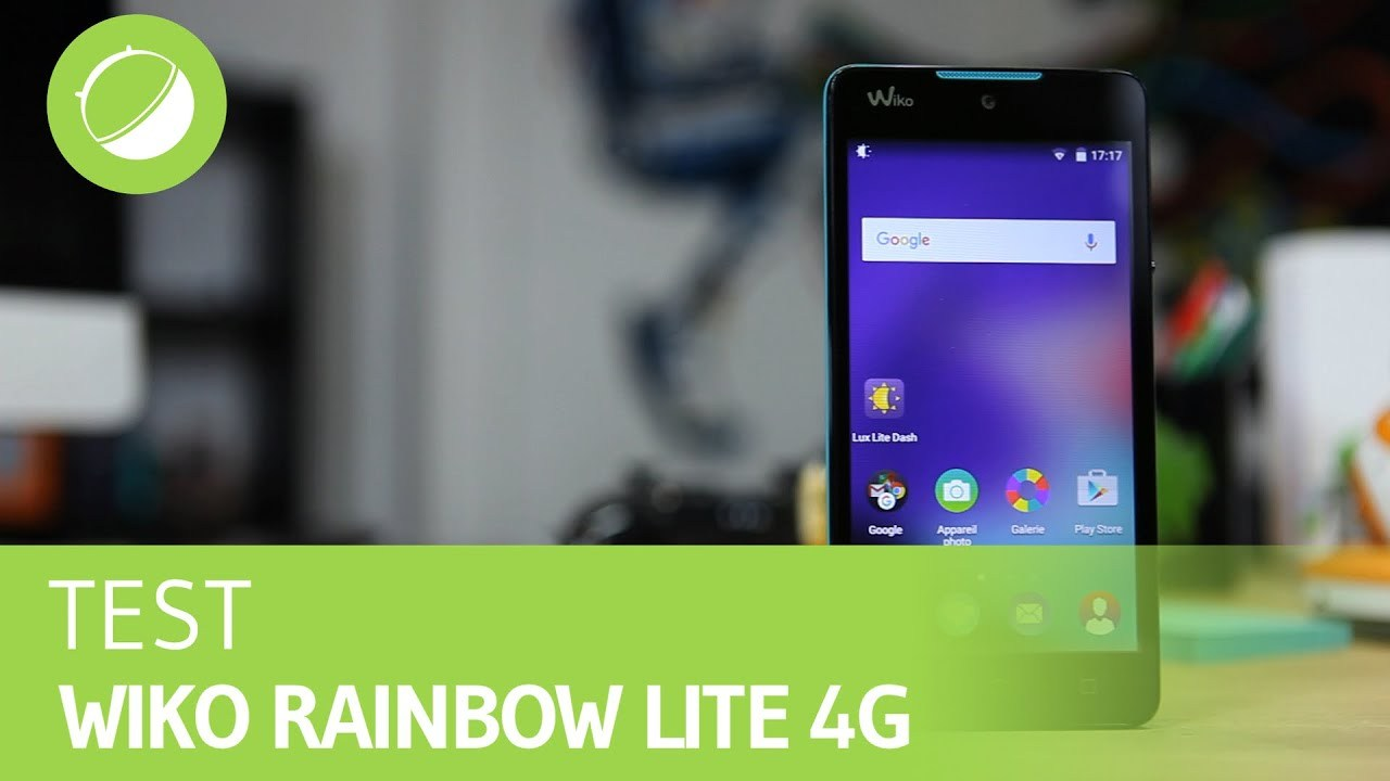 WIKO RAINBOW LITE 4G : Le test