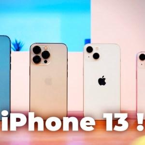 On a ESSAYÉ les nouveautés des iPhone 13 et 13 Pro !