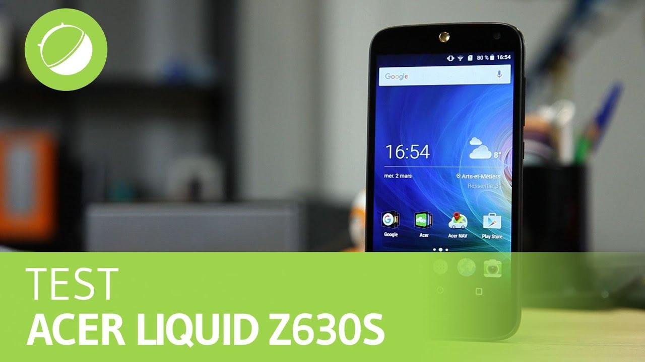 ACER LIQUID Z630S : Le test