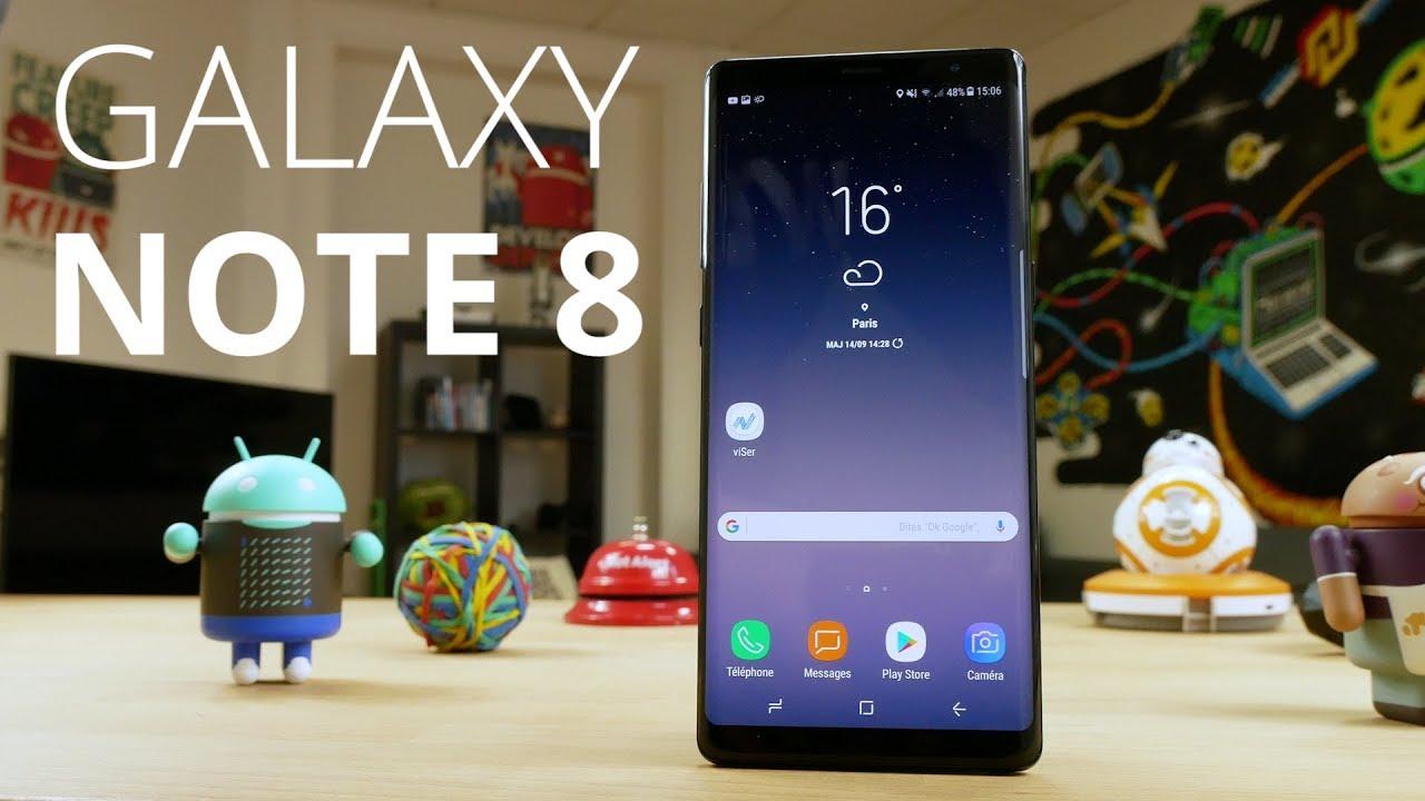 Test du Samsung Galaxy Note 8 : vaut-il vraiment plus de 1000 € ?