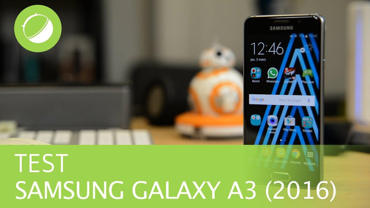 SAMSUNG GALAXY A3 (2016) : Le test