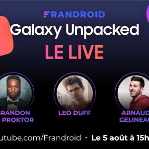LIVE Samsung Unpacked 2020 avec Léo Duff et Brandon Le Proktor : découverte du Galaxy Note 20 !