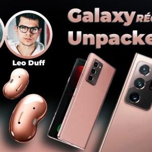 On découvre TOUS les produits Samsung ft. @Léo Duff  & @Brandon Le Proktor ⎮Récap' Unpacked 2020