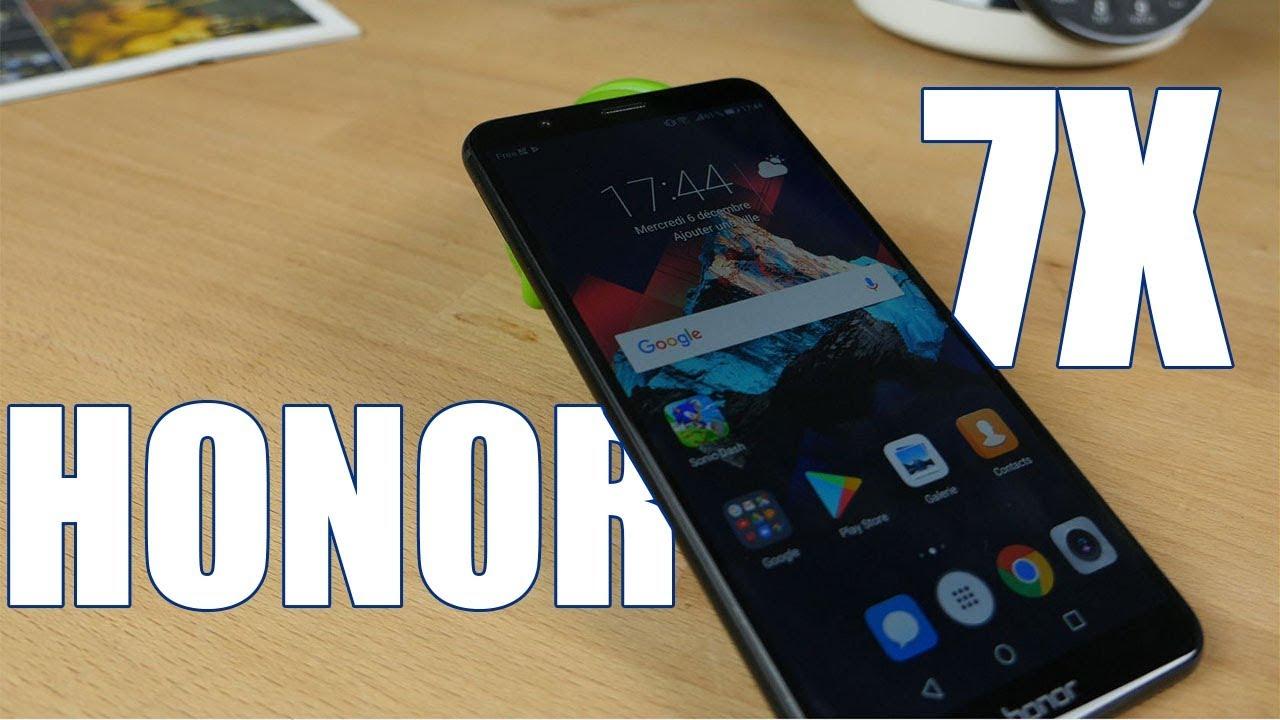 Honor 7X : futur best-seller, bon prix, c'est ici qu'on le teste !