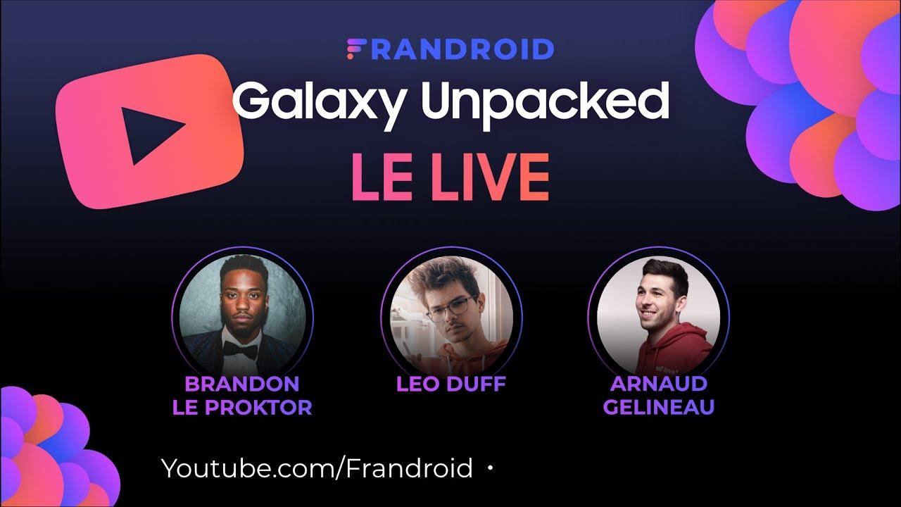 Samsung Unpacked 2020 avec Léo Duff et Brandon Le Proktor : découverte du Galaxy Note 20 !