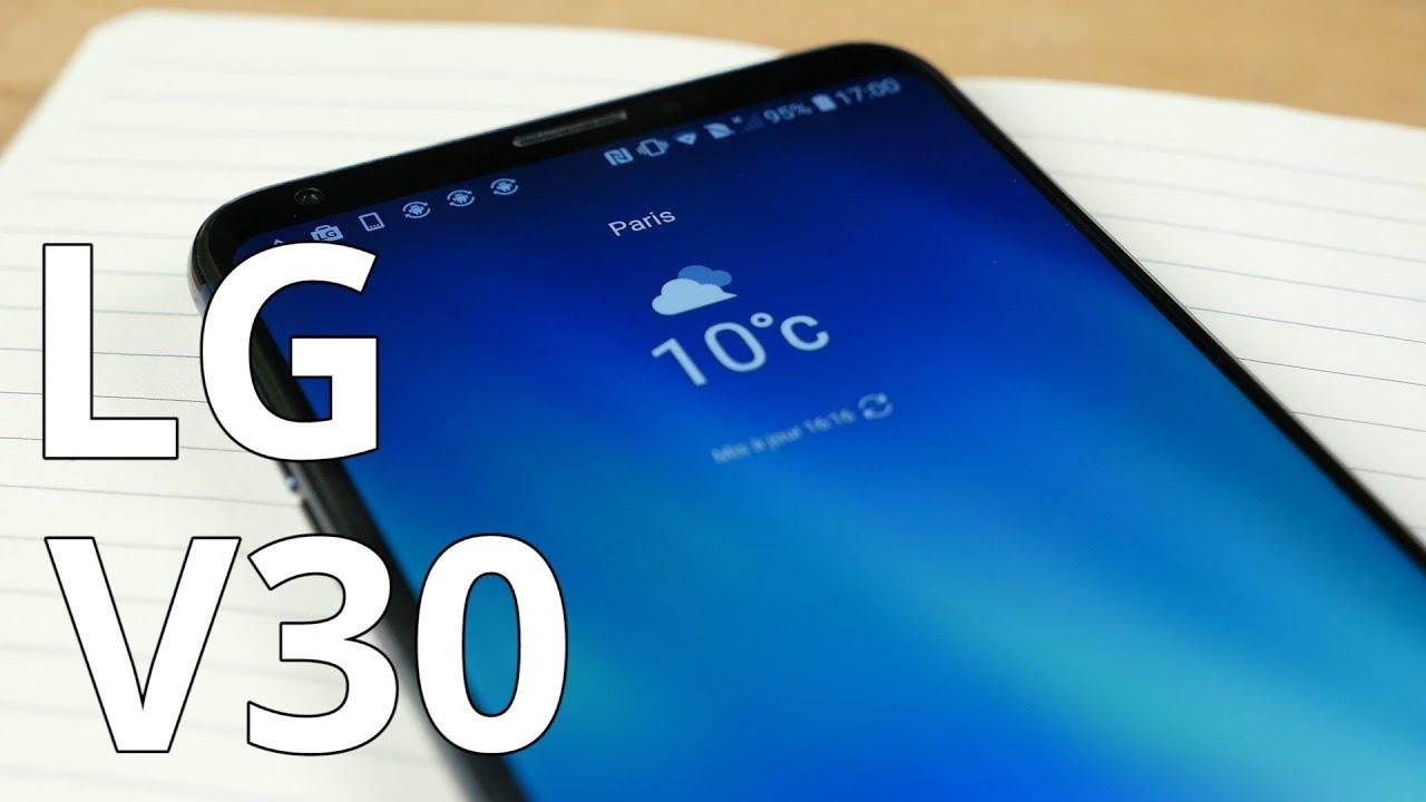LG V30: sexy, puissant et moins cher qu'un Galaxy Note 8, notre test