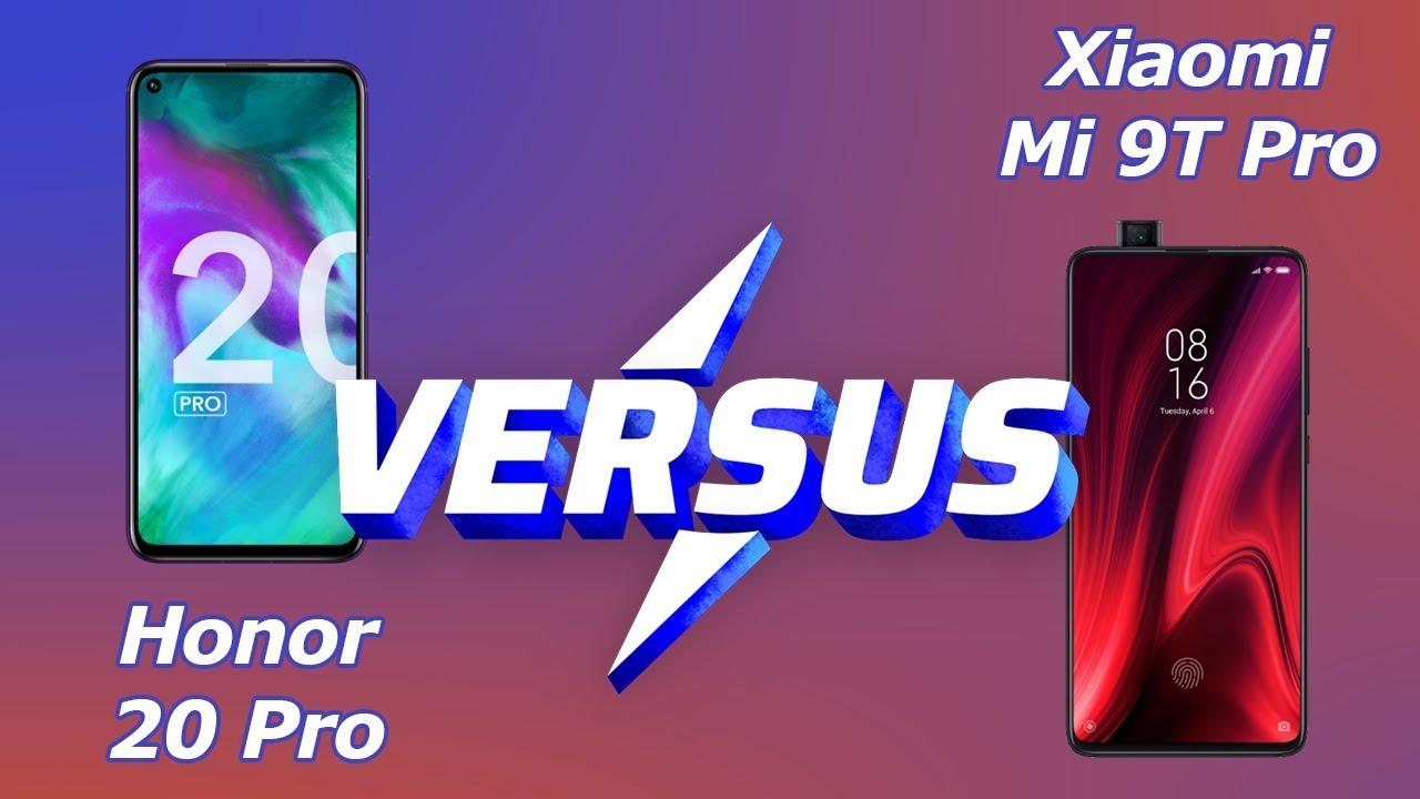Xiaomi Mi 9T Pro vs Honor 20 Pro ! [Versus] 3.0 !