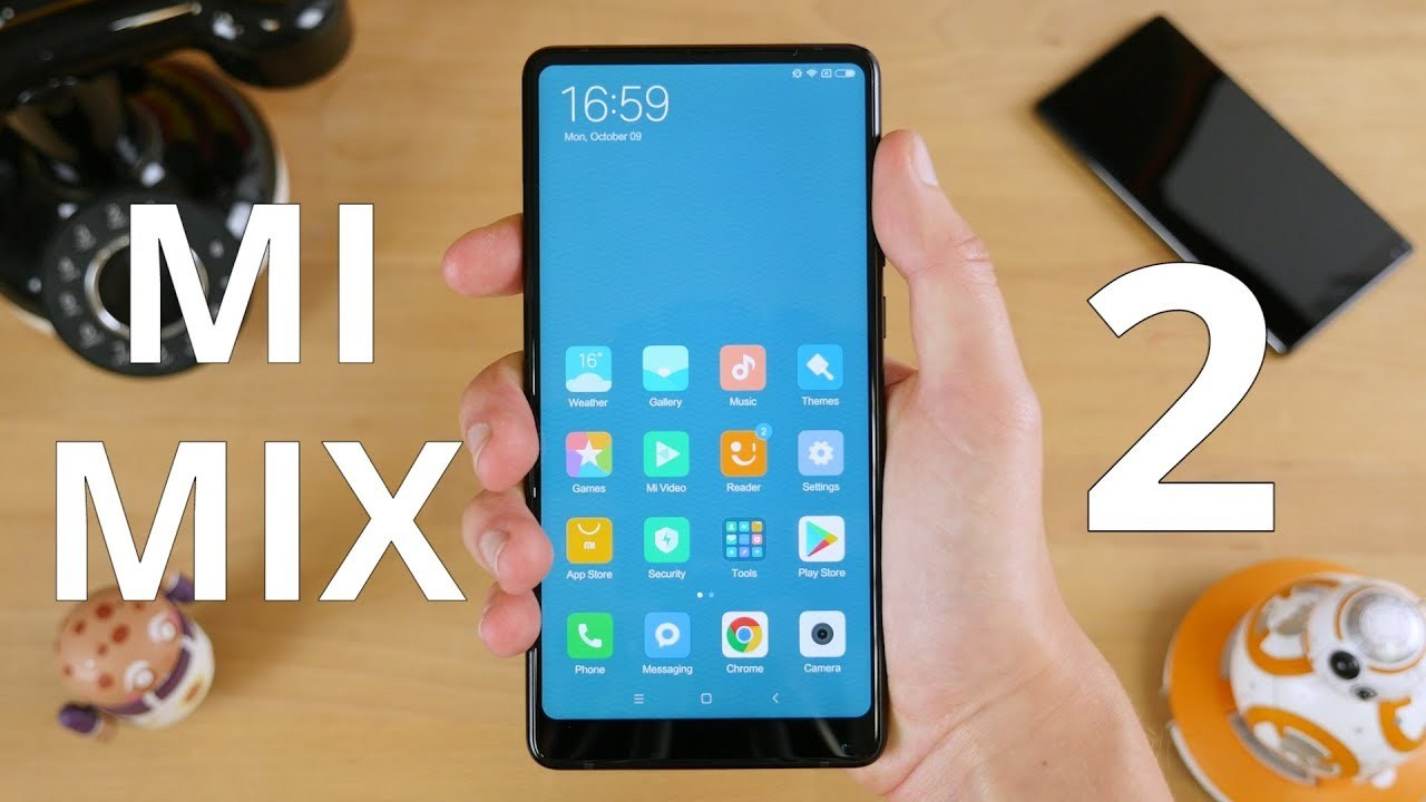 Test du Xiaomi Mi Mix 2 : le smartphone borderless repensé