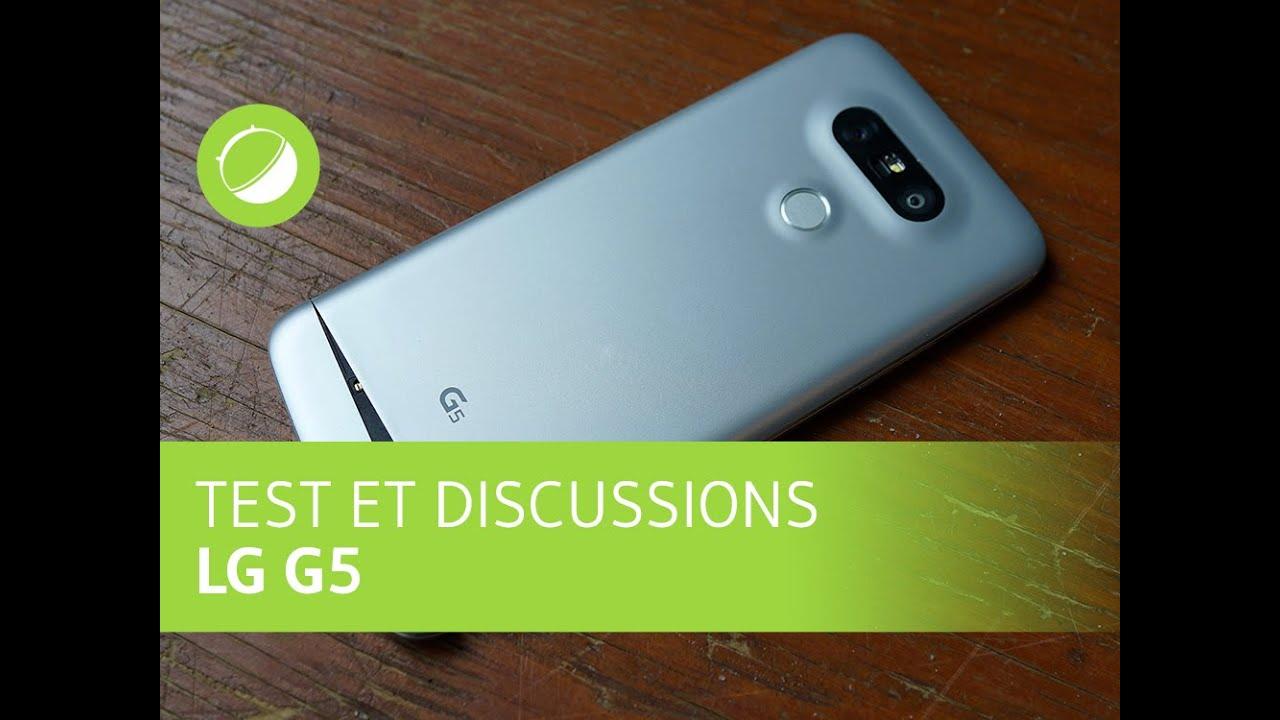 LG G5 : Test et discussions, filmé avec un LG G5