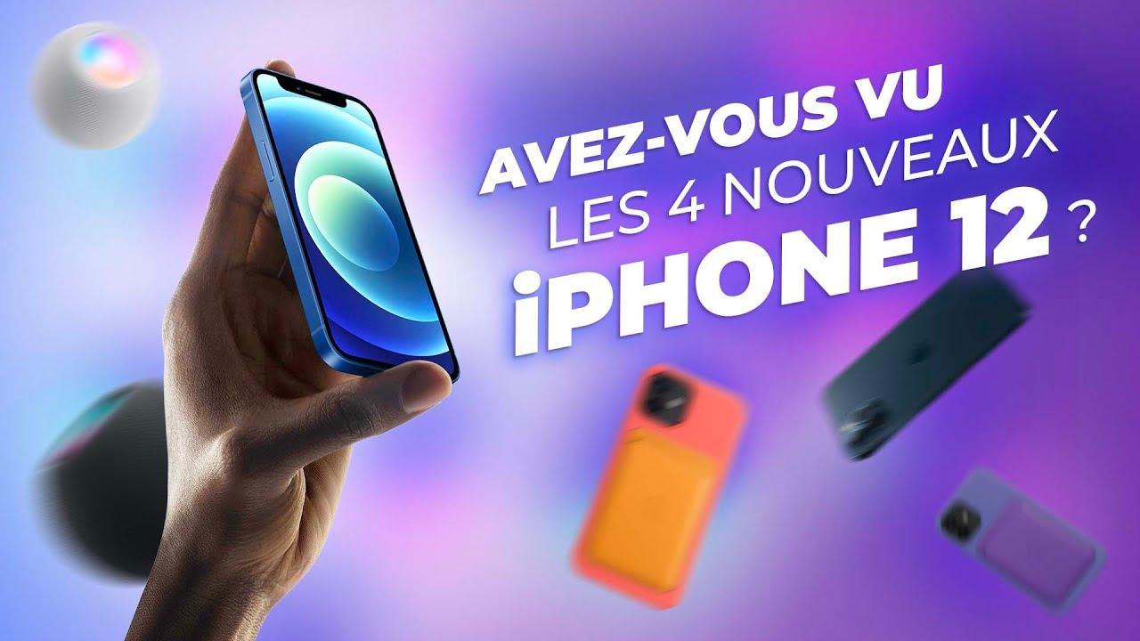 iPhone 12 Pro & Mini : Analyse des annonces d'Apple (Caméras, 5G, MagSafe, Design, HomePod...)