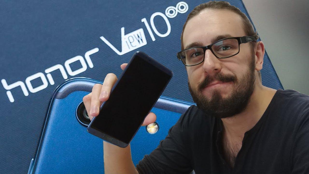 TEST du HONOR VIEW 10 : un Mate 10 Pro à 500 euros