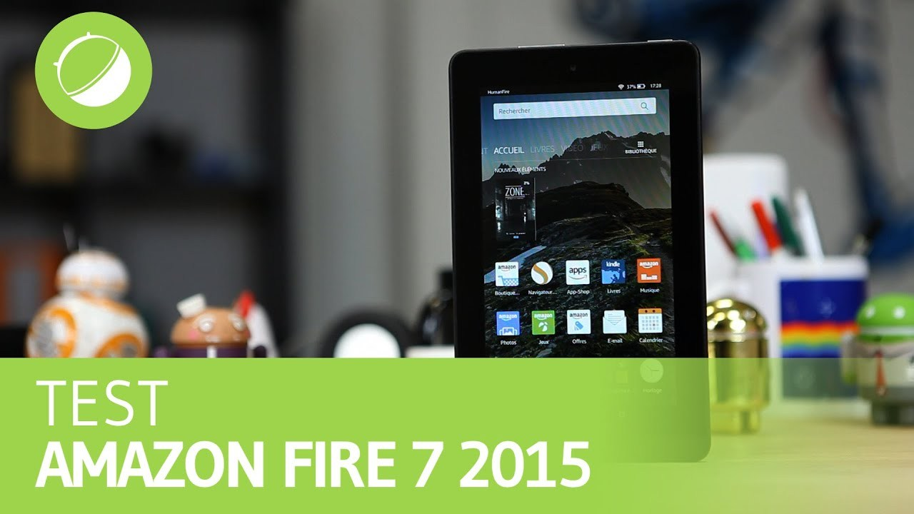 AMAZON FIRE 7 : Test
