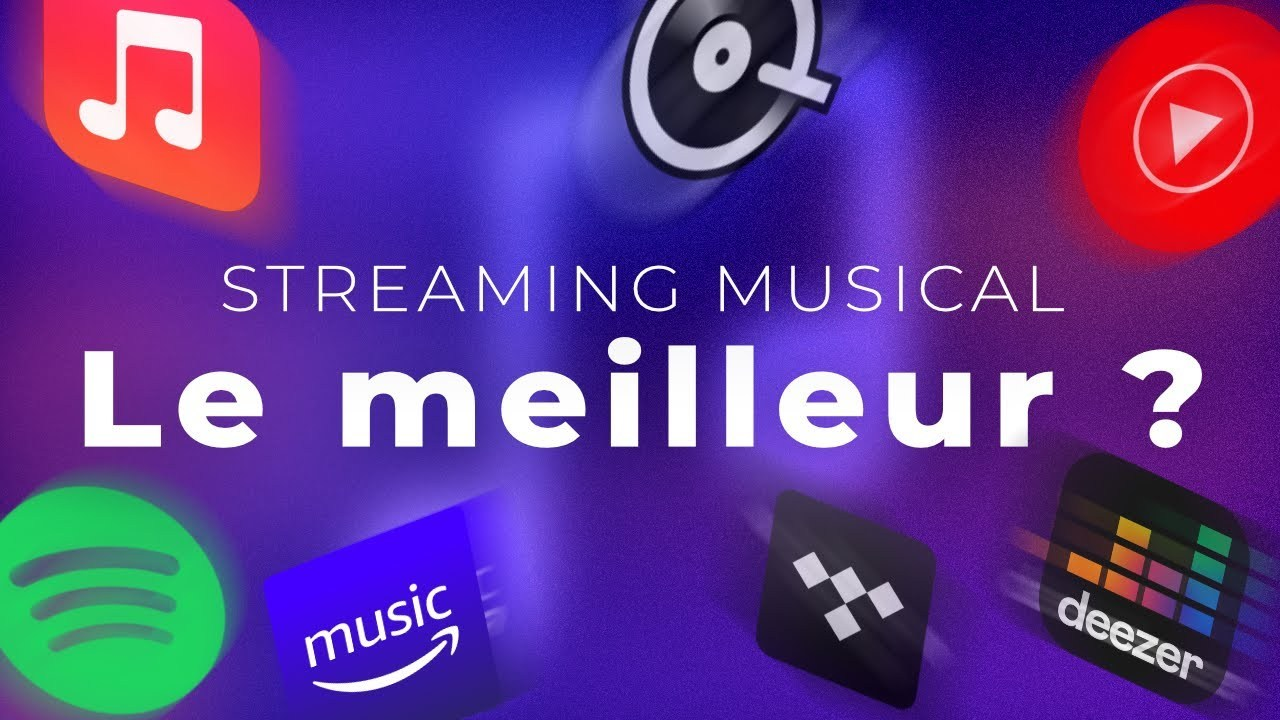 Spotify, Deezer, Apple Music, YouTube Music… : quel est le meilleur service de streaming de musique?