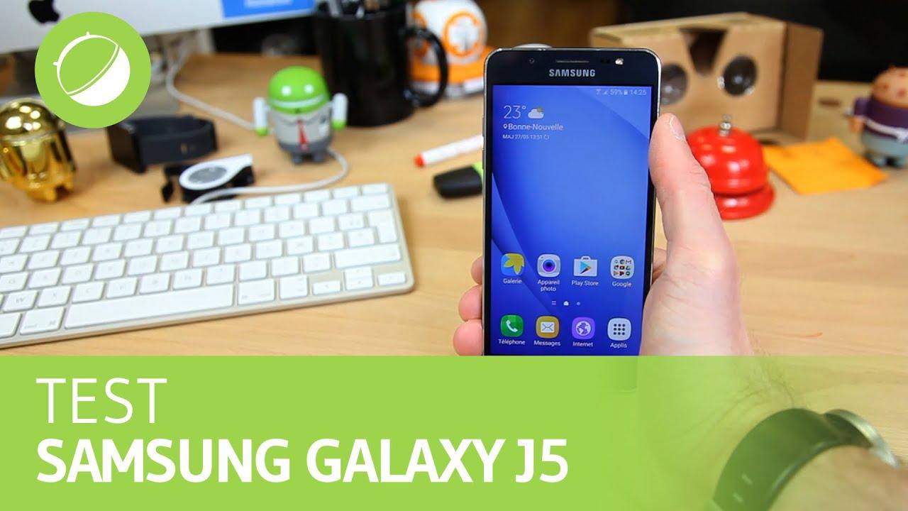 SAMSUNG GALAXY J5 (2016) : Le Test