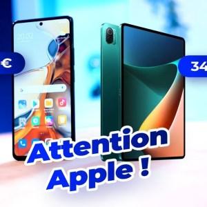 ATTENTION Apple : Les Xiaomi 11T Pro et Xiaomi Pad 5 vont faire mal !