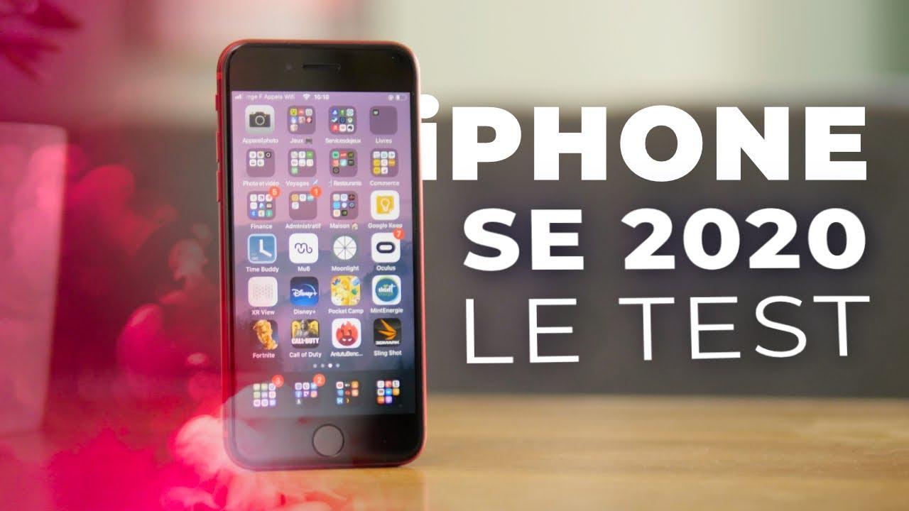 Que VAUT l'iPhone le moins CHER ? Test iPhone SE 2020 !