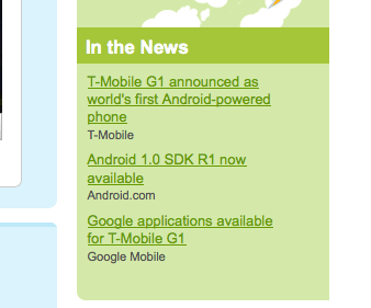 Android SDK 1.0