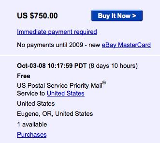 eBay envahi par le T-Mobile G1