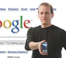 Rich Miner lors d'une Google Keynote