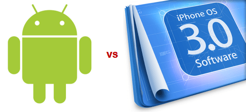 Android contre iPhone 3.0 ?