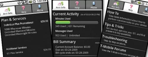 T-Mobile lance une application pour gérer son compte