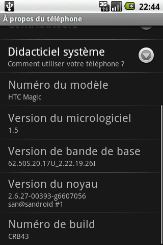 Mise à jour du HTC Magic en France, mais pourquoi ?