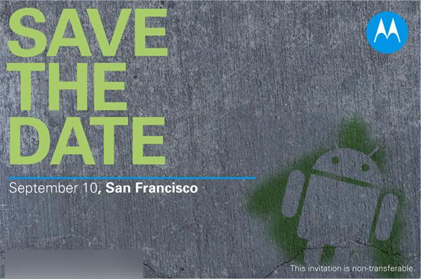 Que nous prépare Motorola le 10 septembre prochain ?