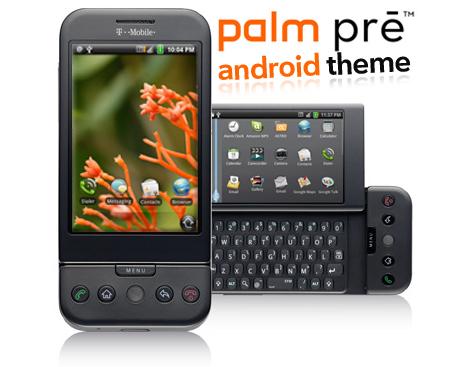 Un thème WebOS du Palm Pré pour Android, ou pas…