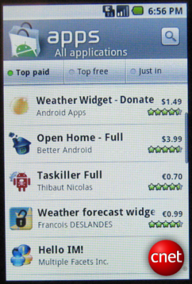 L'Android Market va changer de tête