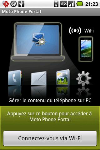 Contrôlez votre Android avec Motorola Phone tools