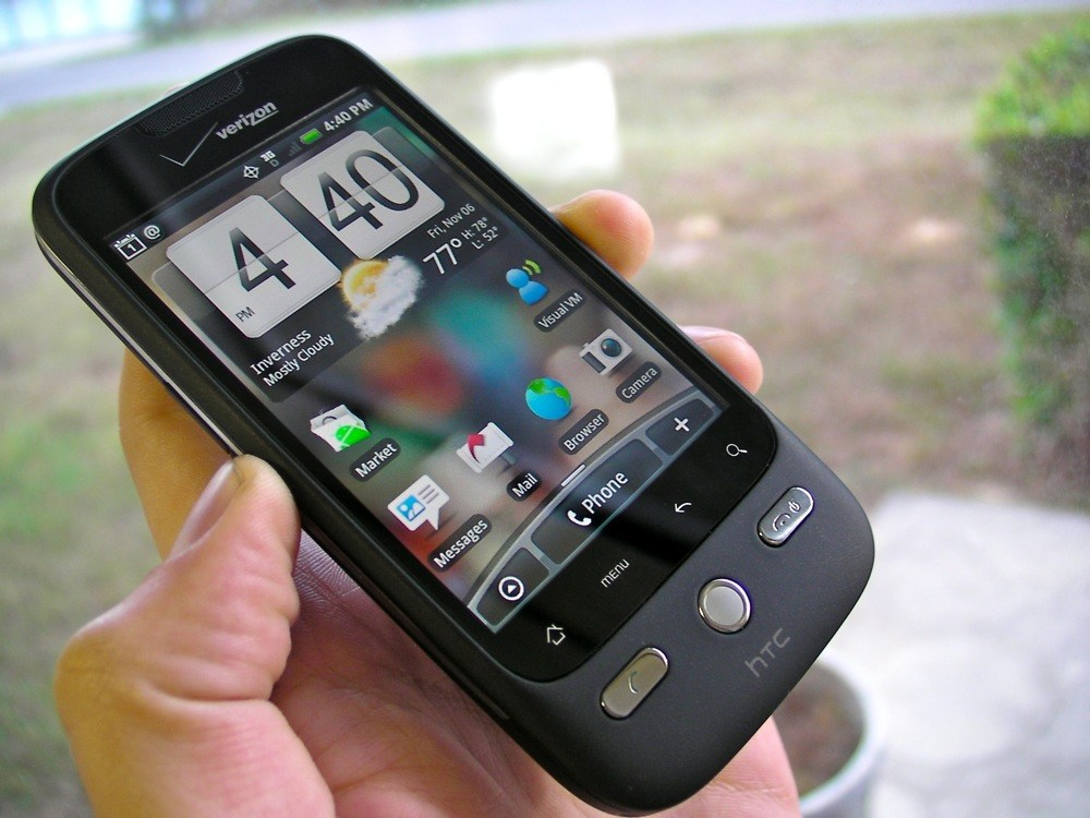 Le HTC Droid Eris en photos