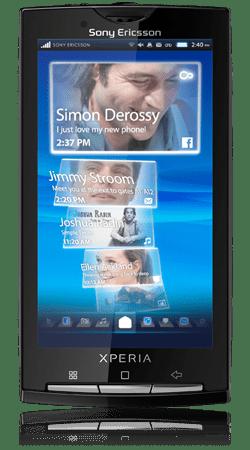 Le prix du Sony Ericsson X10 dévoilé