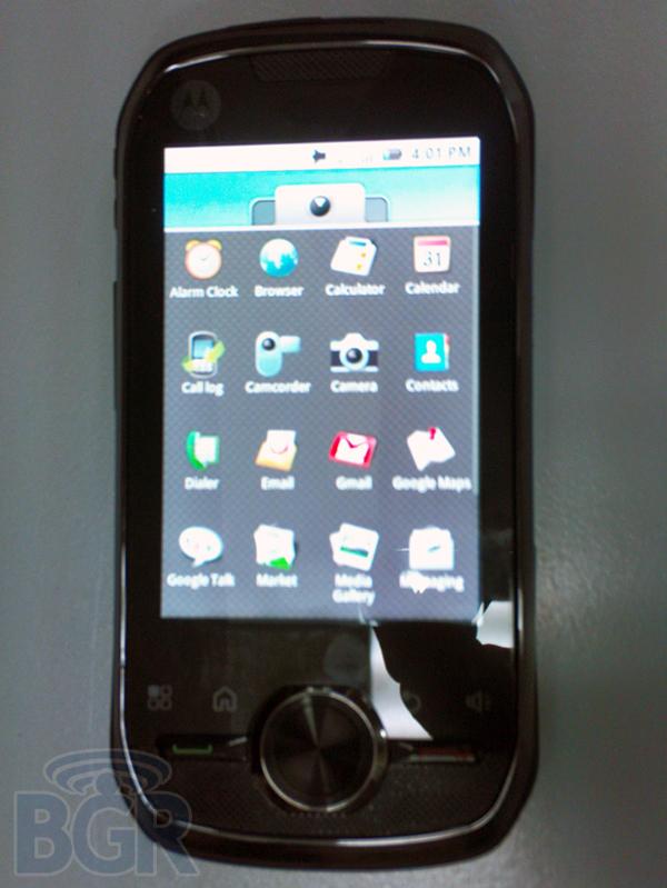 Le premier téléphone Motorola avec technologie IDEN sous Android