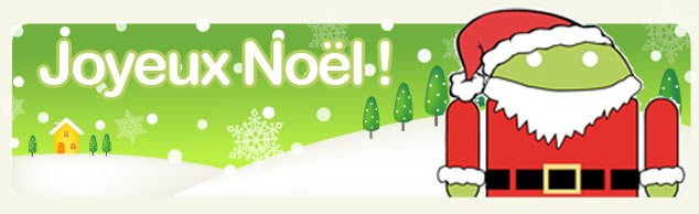 Joyeux Noël à tous les andronautes !