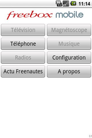 L'application Freebox Mobile disponible sur l'Android Market