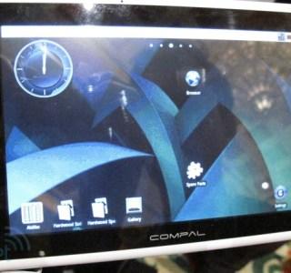 CES 2010 : Compal présente une tablette Android à base de Tegra 2