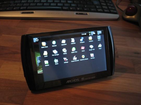 Archos 5 IT : Installez l'Android Market et toutes les applications Google