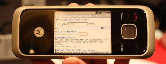 CES 2010 : Motorola présente le HS1001, un téléphone fixe sous Android