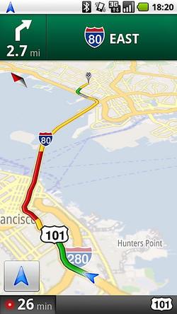 Google Maps Navigation bientôt disponible en Europe