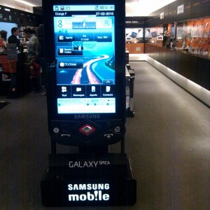 Samsung Galaxy Spica en vente chez Orange