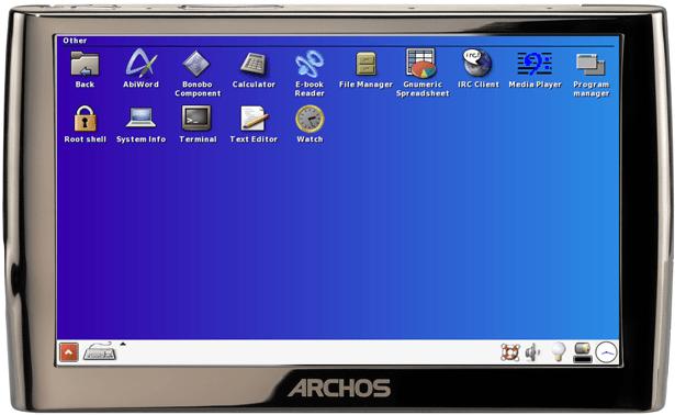 Archos 5 IT : du DualOS et des APIs