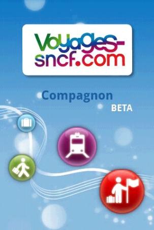 Compagnon, l'application Android de Voyages-SNCF