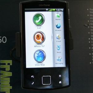 MWC 2010 : Prise en main vidéo du Nüvifone A50 de Garmin-Asus