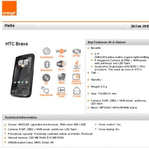 Rumeur : Le HTC Bravo en mars chez Orange ?