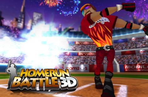 Homerun Battle 3D, un jeu multi-joueur Android et iPhone