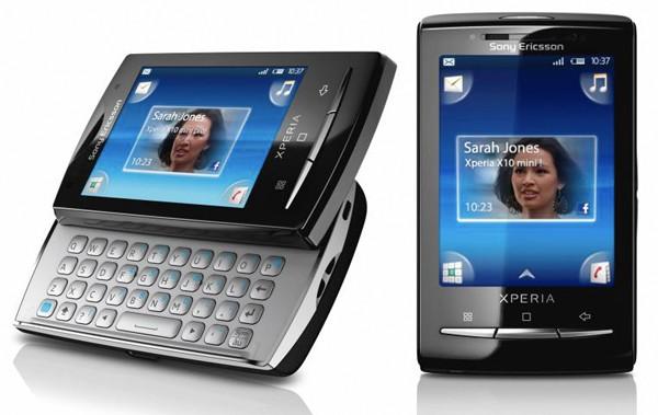 MWC 2010 : Sony Ericsson présente le Xperia X10 mini et le Xperia X10 mini pro
