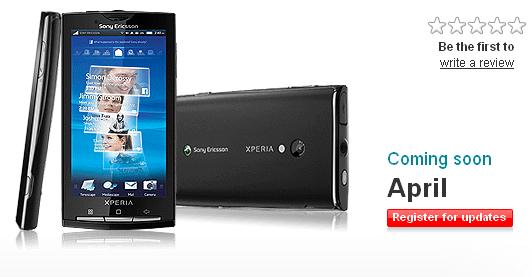 Le Xperia 10 bientôt disponible en Avril en Angleterre chez Vodafone UK